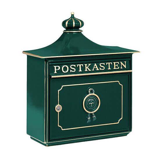 grüner Briefkasten