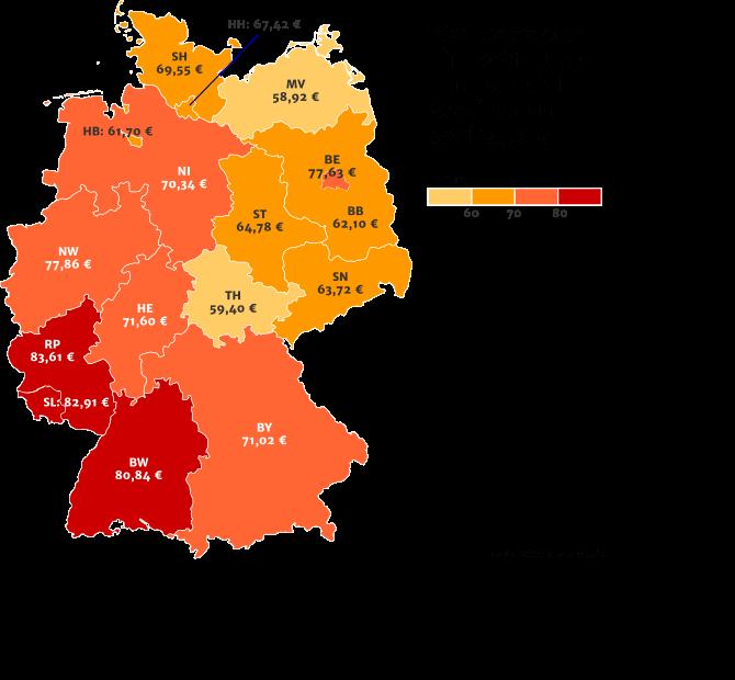 Preisübersicht Türnotöffnung Deutschlandweit an Werktagen tagsüber