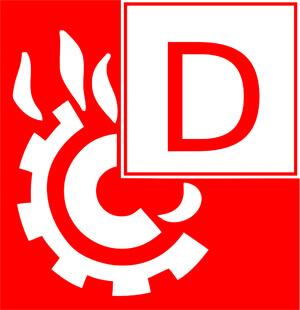Brandklasse D, Einstufung eines Feuers, unterschiedliche Art eines Feuers