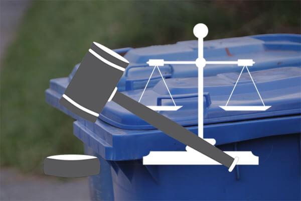 Fremdmuell Rechte und Gesetz
