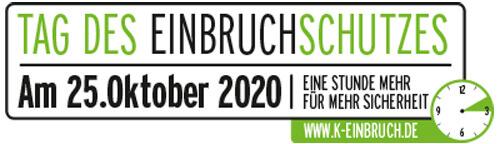 Tag des Einbruchschutzes am 25. Oktober 2020